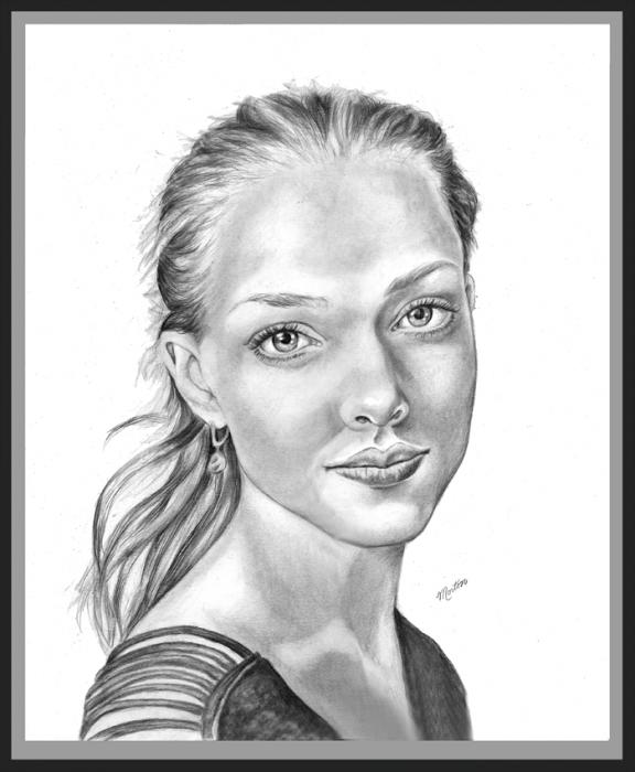 Amanda Seyfried by Christine